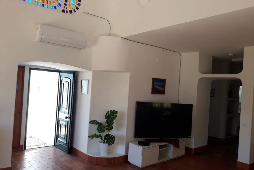 main entrance and living room partial