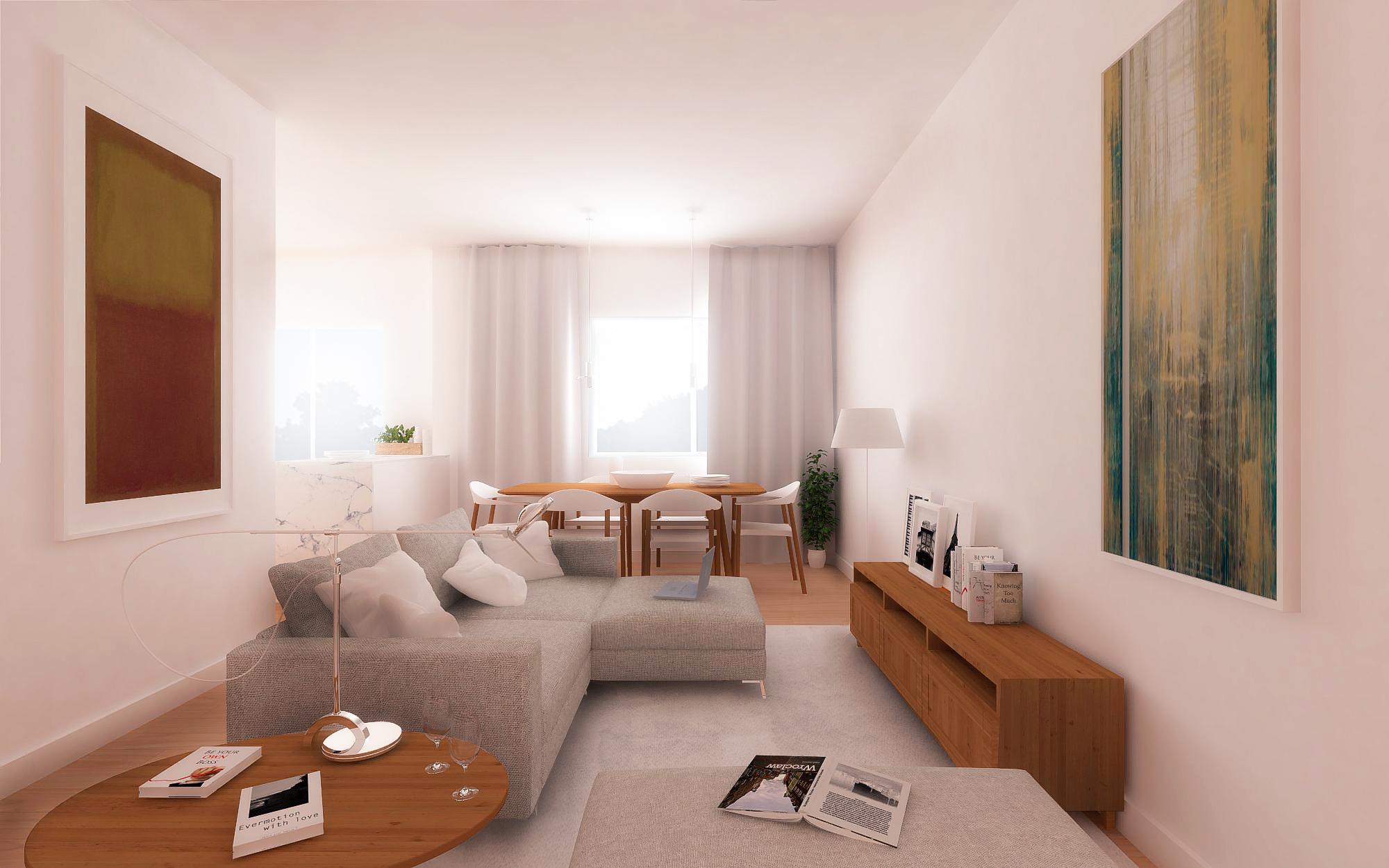 Apartamento T3 – Hospital Beatriz Ângelo e Continente