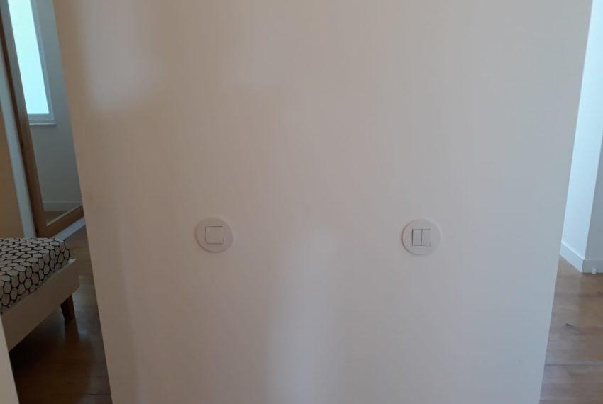 Entrada para os 2 quartos