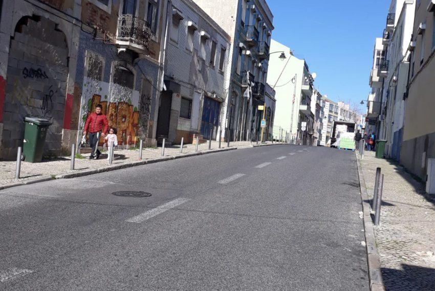Rua de cima (acesso Alameda)