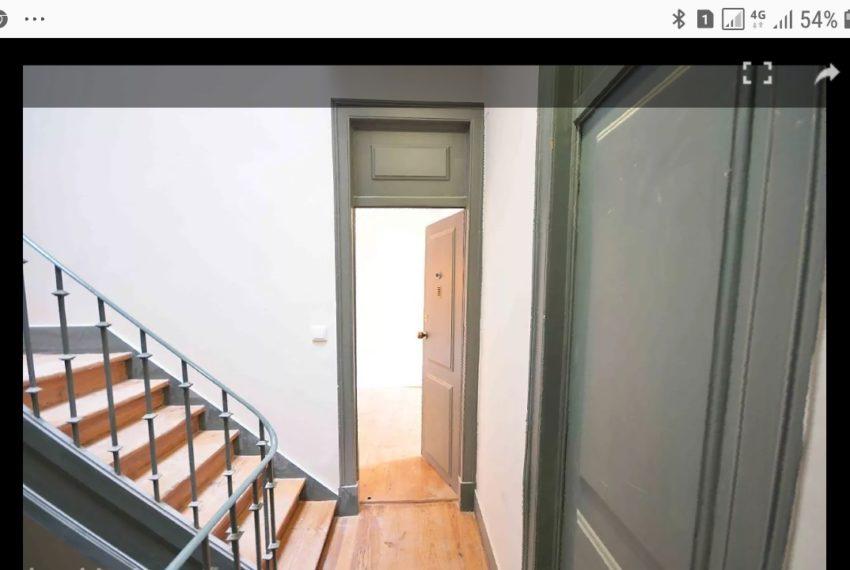 escada e entrada