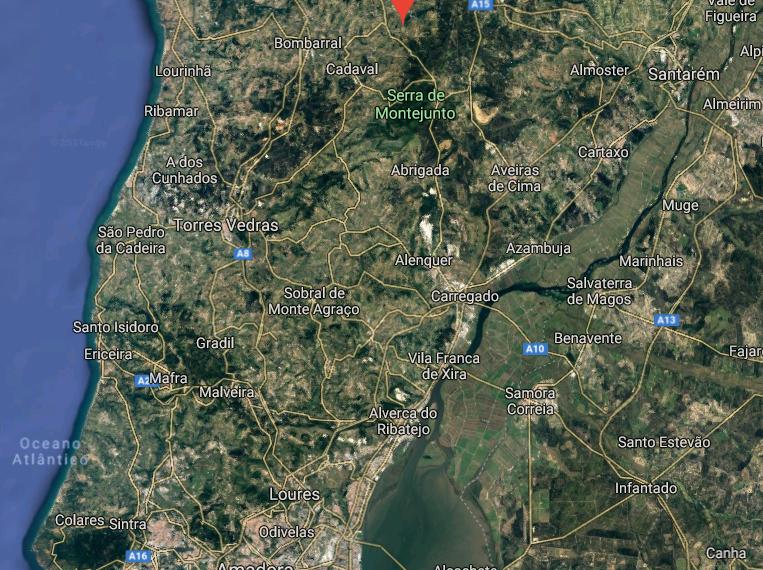Google Map Figueiros
