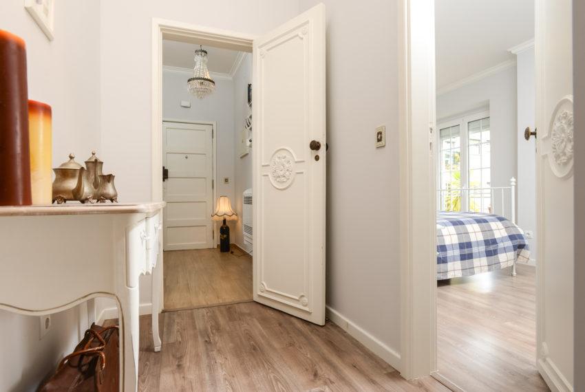 corredor , Hall e entrada para suite