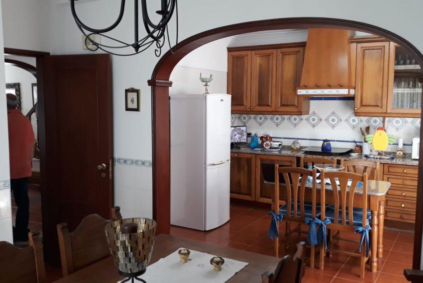 zona comer e cozinha
