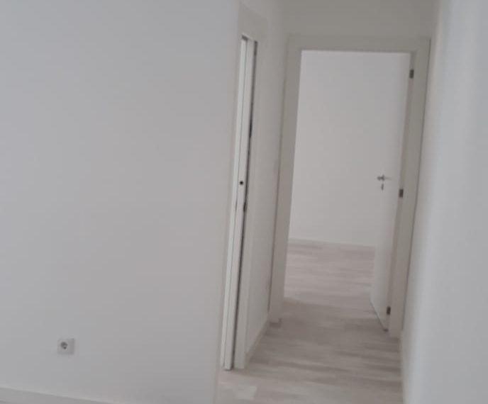 corredor visto da sala