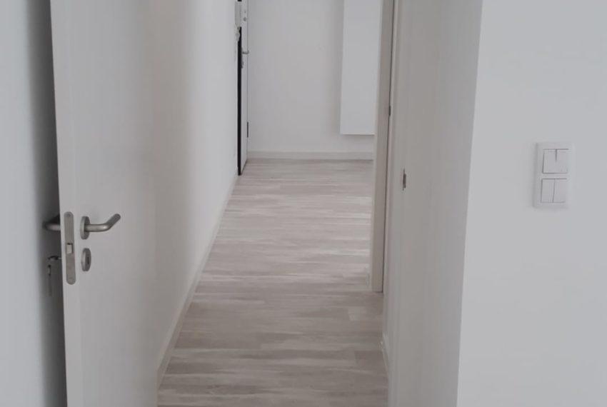 corredor visto do quarto