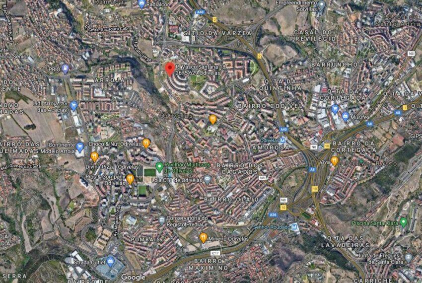 Capturar vista satélite localização