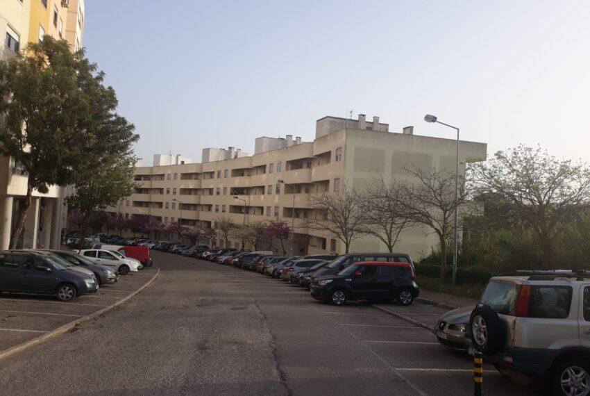 Rua vista parcial