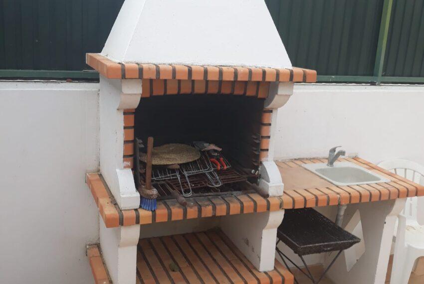 Barbecue e lava louças