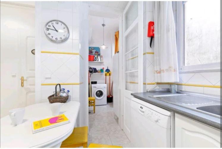 Capturar cozinha parcial e lavandaria