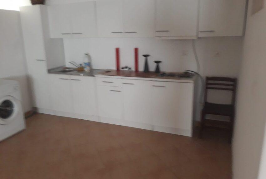 Cozinha no T1 da garagem