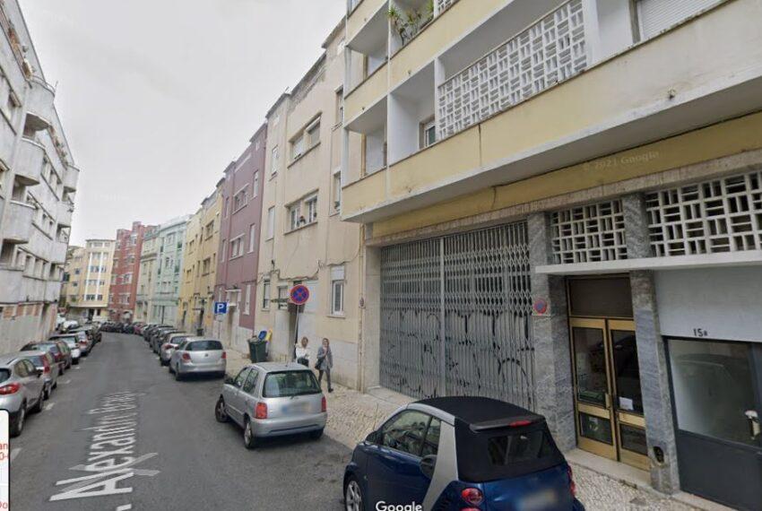 Rua Alex Braga , fachada