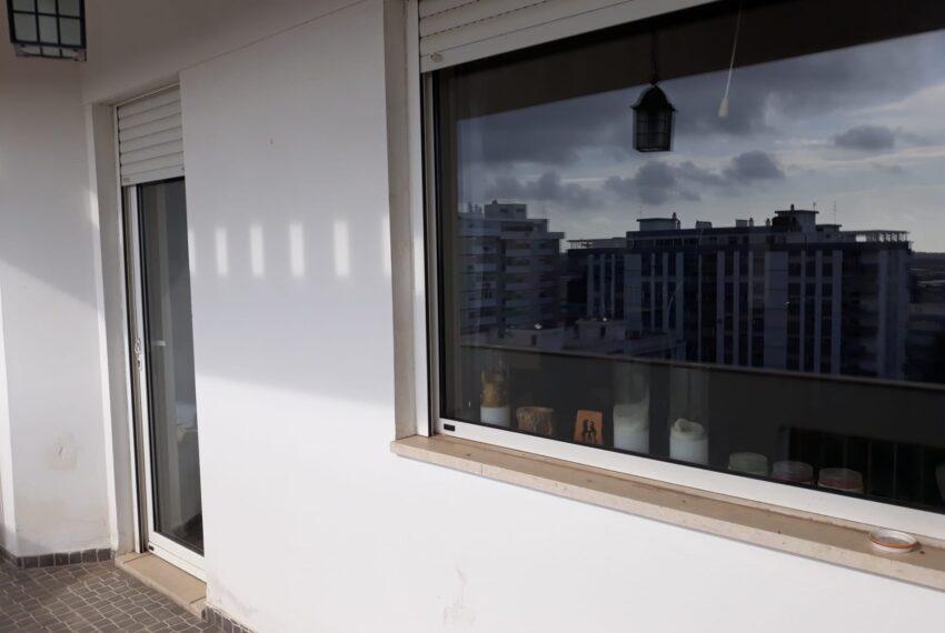reflexo na varanda
