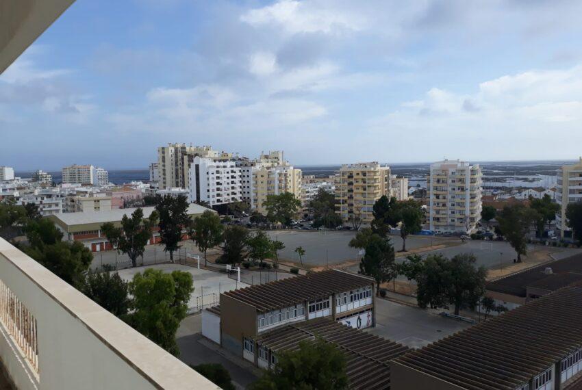 vista varanda para downtown