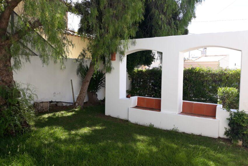 outside social area in the garden