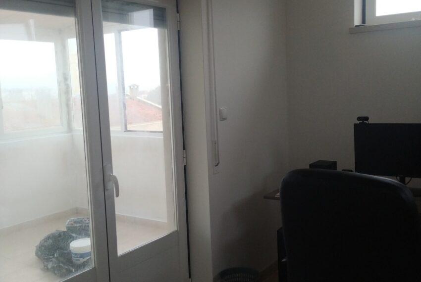 escritório e terraço
